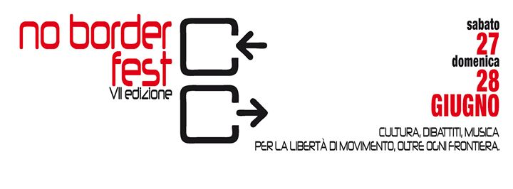 Roma- VII ED. del NO BORDER FEST