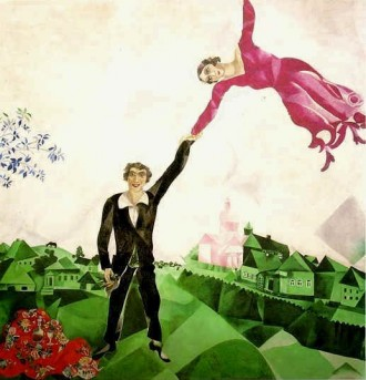 chagall-passeggiata