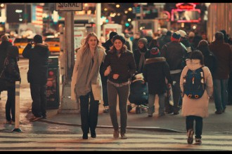 "Greta Gerwig as ""Brooke"" and Lola Kirke as ""Tracy"" in MISTRESS AMERICA. Photo courtesy of Fox Searchlight Pictures © 2015 Twentieth Century Fox Film Corporation All Rights Reserved"
