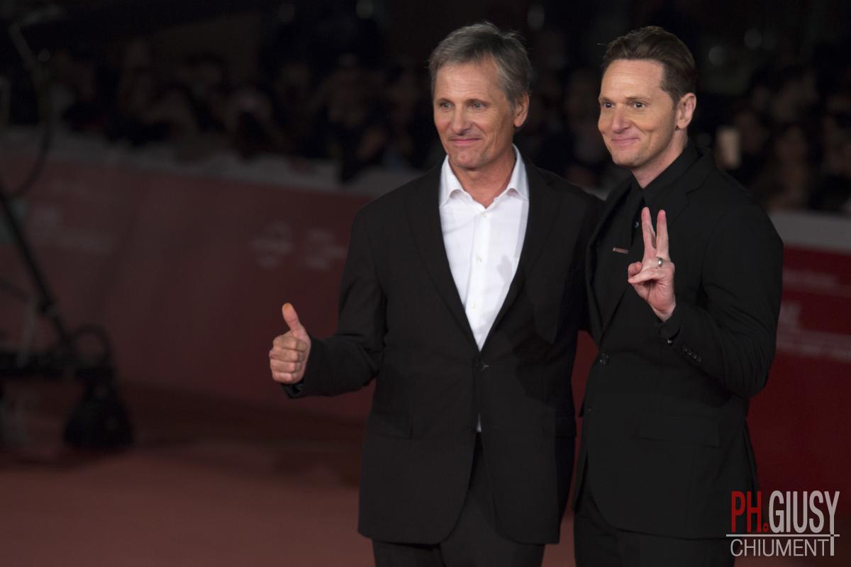 Viggo Mortensen e Matt Ross alla Festa del Cinema di Roma 2016