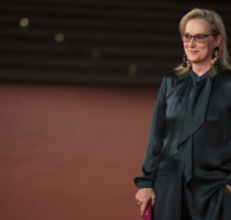 Meryl Streep alla Festa del Cinema di Roma 2016