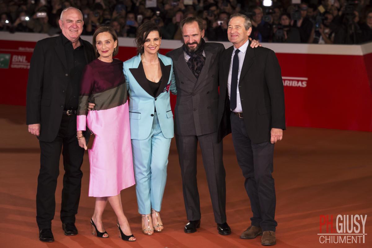 Ralph Fiennes, Kristin Scott Thomas, Juliette Binoche alla Festa del Cinema di Roma 2016