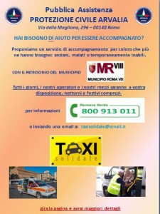 TAXI SOLIDALE MUN VIII