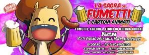 La Sagra dei fumetti, a Verona: un incontro tra birra, salsicce, e fumetti.