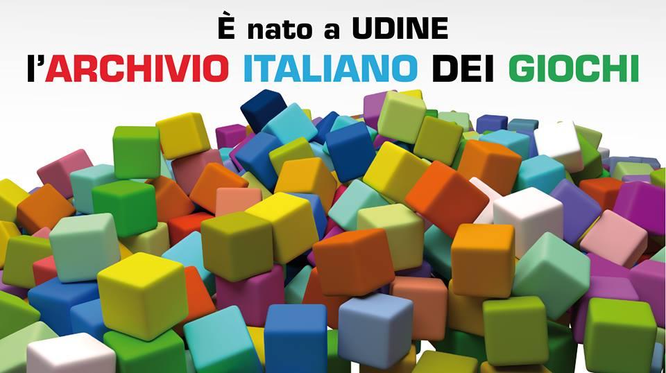 Nasce a Udine l'Archivio Italiano dei Giochi