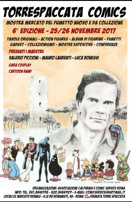 Torrespaccata Comics: presentazione della sesta edizione