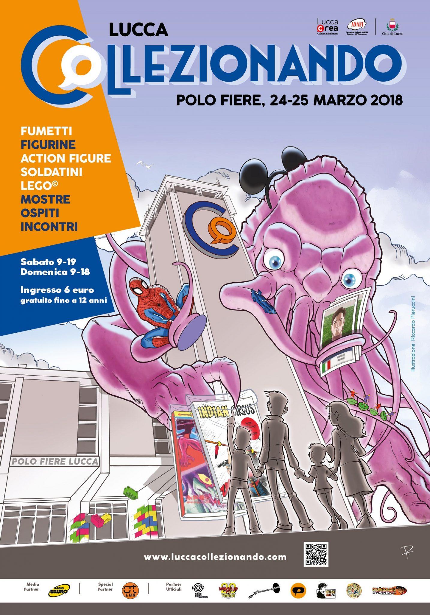 Collezionando 2018: la terza edizione dell'altra fiera del fumetto di Lucca